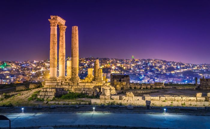 Jerash and Amman City Tour from Dead Sea