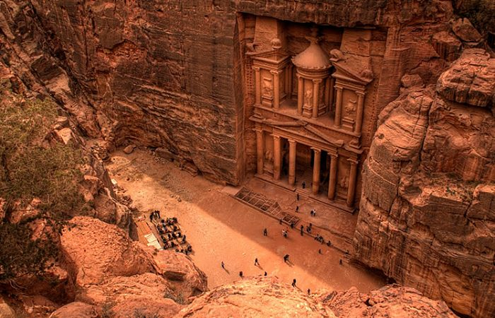 Petra Day Tour from Dead Sea Hotel